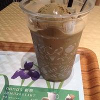Photo taken at nana's green tea 熊本パルコ店 by あみか #. on 5/10/2014