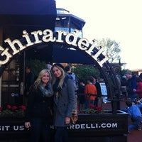 Photo taken at Ghirardelli Square by Heather B. on 12/27/2012