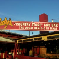 Photo taken at Rudy's Country Store & Bar-B-Q by Rick J. on 9/25/2012