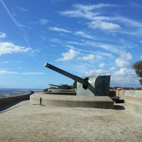 Photo taken at Castillo de Montjuic by young-kyu c. on 10/17/2012