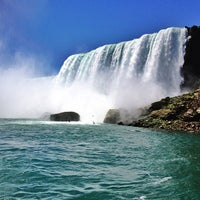 Photo taken at Maid Of The Mist - Canada entry by Jenn on 5/29/2013