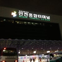 Photo taken at Incheon Bus Terminal by sihwa k. on 4/17/2013