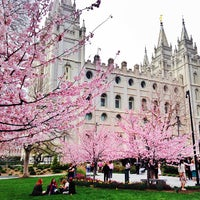 Photo taken at Temple Square by Stephen B. on 4/7/2013