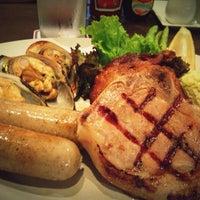 Photo taken at Chokchai Steakhouse by Narumon B. on 10/2/2012