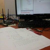 Photo taken at Embedded System Lab, Level 1, P04, FKE, UTM by Nurul Shafiqah N. on 8/19/2014