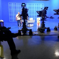 Photo taken at WIPR-TV Canal 6 by Verónica R. on 4/26/2013