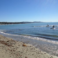 Photo taken at Doheny State Beach by Georgia P. on 10/27/2012