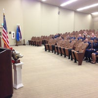Photo taken at 381st TRG Auditorium by Andrew P. on 9/19/2013