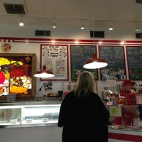 Photo taken at Bonnie Brae Ice Cream by Andrew P. on 10/28/2012