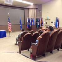 Photo taken at 381st TRG Auditorium by Andrew P. on 9/20/2013