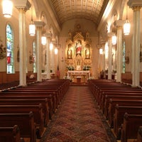 Photo taken at St. Peter Catholic Church by Andrew P. on 3/30/2013