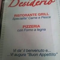 Photo taken at Ristorante Pizzeria Desiderio by Marco Bubble B. on 3/5/2013
