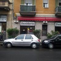 Photo taken at Ristorante Pizzeria Desiderio by Marco Bubble B. on 9/29/2012