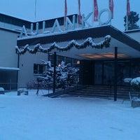Photo taken at Kylpylähotelli Rantasipi Aulanko by Константин Р. on 12/1/2012