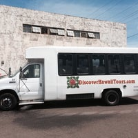 Photo taken at Discover Hawaii Tours by Kimo C. on 6/5/2014