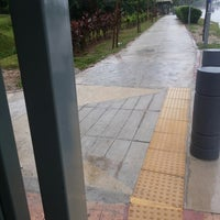 Photo taken at Cyberia Bus Stop by Sheramel S. on 9/5/2013