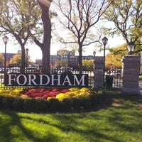 Photo taken at Fordham University - Rose Hill by Emmanuel D S. on 10/21/2012