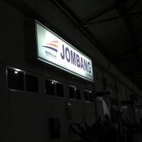 Photo taken at Stasiun Jombang by Kurniadi P. on 9/23/2012