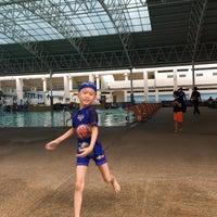 Photo taken at สระว่ายน้ำ การกีฬาแห่งประเทศไทย by punpaporn P. on 4/5/2017