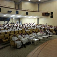Photo taken at Main Auditorium by Naif S. on 9/25/2013