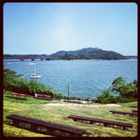 Photo taken at Lake Hamana by Masa T. on 8/4/2013