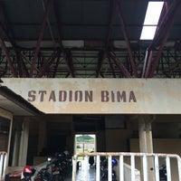 Photo taken at Stadion Bima by Endang Real Suryana 4. on 6/14/2016