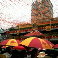 Photo taken at Basilica Minore del Santo Niño by Lynne Christine on 1/14/2013