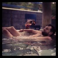 "Photo taken at Guciku ""Hot Water Boom"" by Ratna Dewi Y. on 11/11/2013"