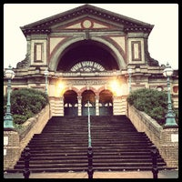 Photo taken at Alexandra Palace by Christopher R. on 6/12/2013