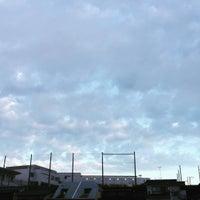 Photo taken at 板橋区立 中台中学校 by toshiro s. on 8/22/2016