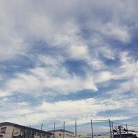 Photo taken at 板橋区立 中台中学校 by toshiro s. on 10/11/2016