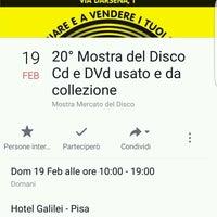 Foto scattata a Hotel Galilei da Truciolo76 il 2/19/2017