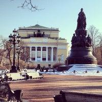 Снимок сделан в Александринский театр пользователем Anna💝 Y. 4/9/2013
