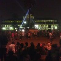 Photo taken at Lapangan Gasibu by Ivan N. on 9/15/2012