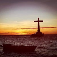 Photo taken at Sunken Cemetery Cross by Phillip V. on 5/5/2017