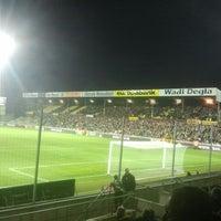 Photo taken at Herman Vanderpoortenstadion | Het Lisp by steven on 11/10/2012