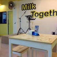 Photo taken at Milk Together by Nowiiz B. on 3/25/2014