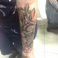 Photo taken at Revolt Tattoo Kustom by Alisa 💎 F. on 12/2/2014