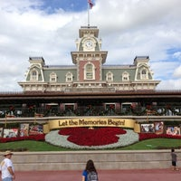 Photo taken at Main Street, U.S.A. by Christina D. on 12/11/2012