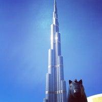 Photo taken at Burj Khalifa by 🎀 MaRussia 🎀 on 4/3/2013