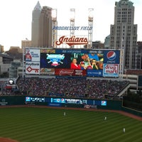 Photo taken at Progressive Field by Sean M. on 8/10/2013