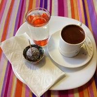 Photo taken at Çikolata Cafe by Ismail A. on 7/15/2013