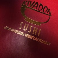 Photo taken at Kiyadon Sushi by Ger L. on 5/21/2014