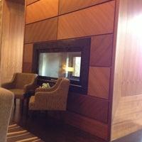 Photo taken at Sheraton Bratislava Hotel by Igor V. on 10/17/2012