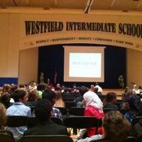 Photo taken at Westfield Intermediate School by Ryan O. on 11/15/2012