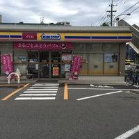 Photo taken at ミニストップ 中村日赤前店 by Yoshihiro on 8/27/2016