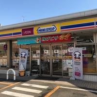 Photo taken at ミニストップ 中村日赤前店 by Yoshihiro on 2/15/2017