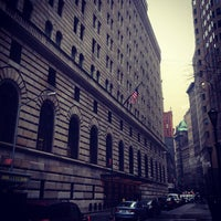 Photo taken at Federal Reserve Bank of New York by everpeace S. on 2/23/2013