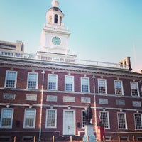 Photo taken at Independence National Historical Park by everpeace S. on 4/1/2013