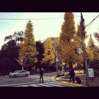 Photo taken at 北参道交差点 by Kazuhiro S. on 12/5/2012